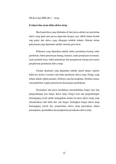Contoh Jurnal Umum Dengan Sistem Perpetual - Gontoh