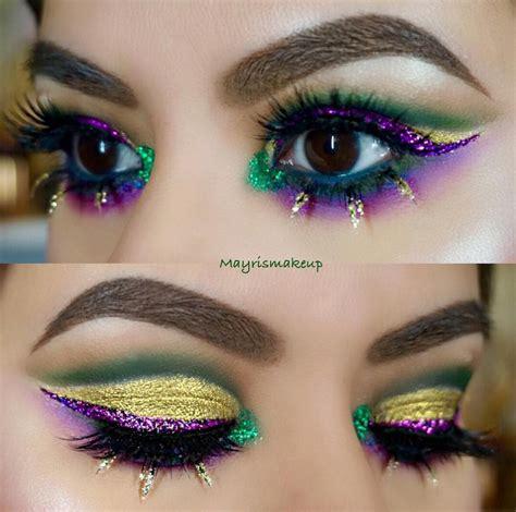 mardi gras inspired makeup    guaranteed  stop traffic