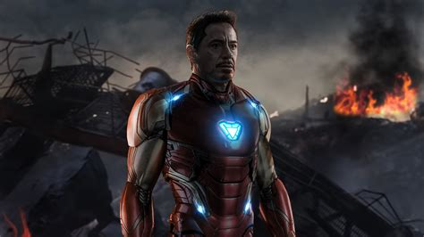 iron man avengers endgame laptop full hd p