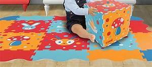 Dalle Mousse Bébé Non Toxique : test du tapis puzzle mousse b b ludi la marmaille ~ Voncanada.com Idées de Décoration