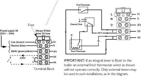 nest thermostat and baxi combi 105e diynot forums