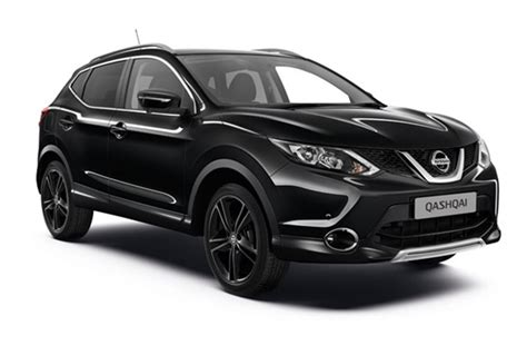new flagship black edition added to nissan qashqai range