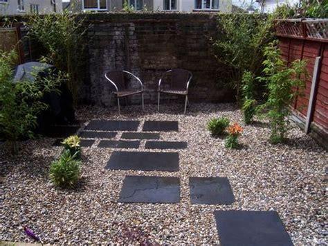 easy  maintenance modern backyard chelmsford black