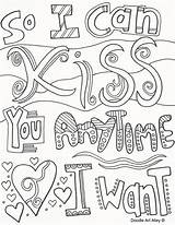 Coloring Pages Doodle Quote Alley Quotes Adult Anniversary Sheets Happy Printable Colouring Mom Dad Books sketch template