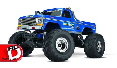 bigfoot monster truck bigfoot no 1 the original monster truck from traxxas rc