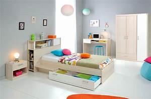 Kinderzimmer Mit Schreibtisch : jugendzimmer chiron 10 akazie nb bett regal nako ~ Michelbontemps.com Haus und Dekorationen