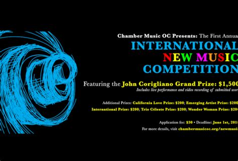International New Music Competition