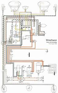 Volkswagen Beetle Workshop Wiring Diagram