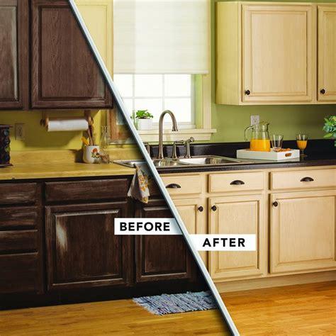change     cabinets   rust oleum cabinet transformations refinishing kit