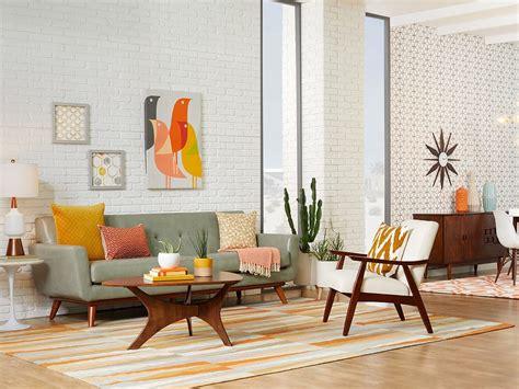 Modern Living Room : Mid-century Modern Living Room Ideas