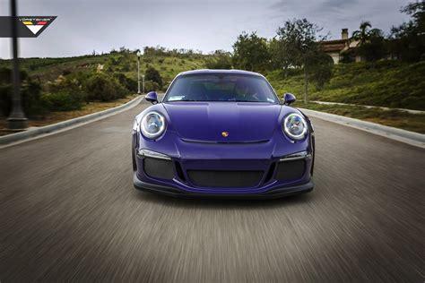 modified porsche gt3 purple vorsteiner porsche 911 gt3 rs cars modified