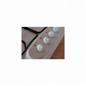 Plaque De Cuisson Gaz Verre Blanc : bouton blanc plaque de cuisson gaz ~ Dailycaller-alerts.com Idées de Décoration