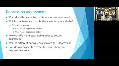 treating depression   strengths based