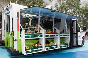 Bus Converted Into Mobile Food Market Brings Fresh Produce