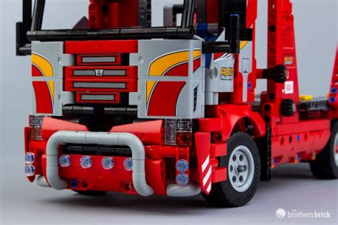 lego technic  car transporter review  brothers