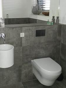 Handtuchhalter Für Gäste Wc : g ste wc gestaltung modern mit mosaik boden raum und m beldesign inspiration ~ Frokenaadalensverden.com Haus und Dekorationen