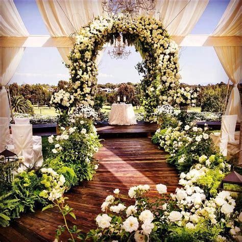 most inspirational daytime outdoor wedding decorations ideas shadibox