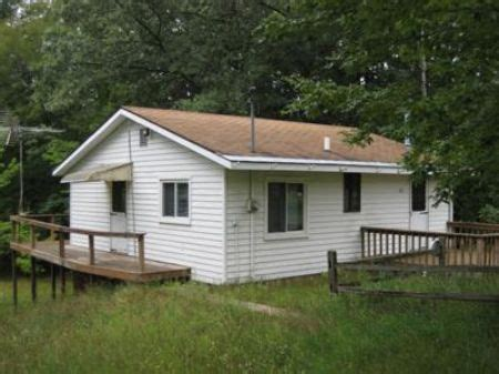 foreclosed cottages michigan pere marquette river cabin lot for branch