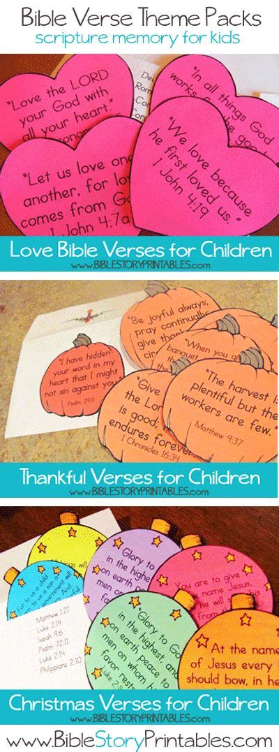 17 best images about ideas para la escuela dominical on 697 | 2e26fe3f6ab2e398f1c649f0552d8306 bible verses for kids children's bible