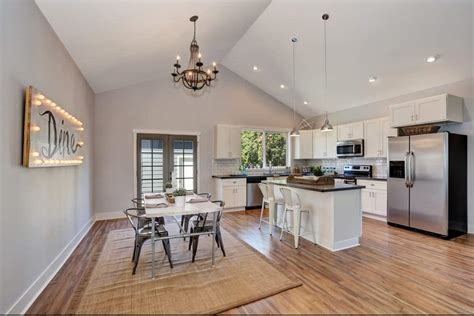 Get a ton of kitchen ceiling ideas here. 95 Vaulted Ceiling Ideas for Every Room (Photos)