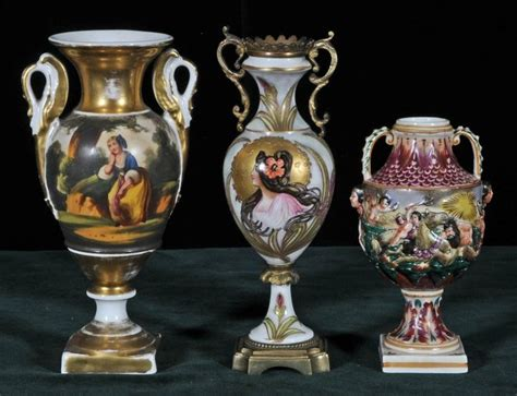 17 Best Images About Swan Handled Old Paris Vase On