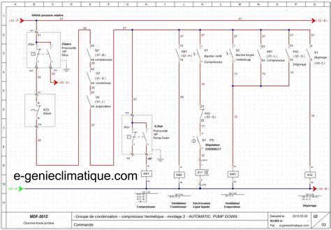 bilan thermique chambre froide installation climatisation gainable circuit frigorifique