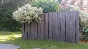 Panneau De Jardin Pas Cher : brise vue de jardin pas cher en brise vue jardin sol bois ~ Premium-room.com Idées de Décoration