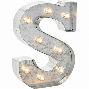 Silver metal marquee letter 9875quot s for Silver marquee letters