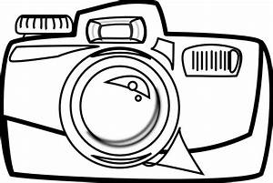 Digital Camera Clipart Black And White | Clipart Panda ...