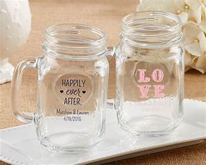 personalized mason jar wedding favors my wedding favors With personalized mason jar wedding favors