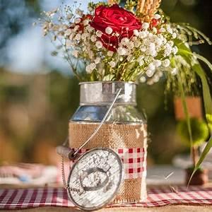 Mariage Theme Champetre : decoration theme champetre pour mariage ou anniversaire ~ Melissatoandfro.com Idées de Décoration