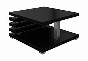 Couchtisch Schwarz Matt : oslo couchtisch 60 x 60 cm schwarz matt ~ Frokenaadalensverden.com Haus und Dekorationen