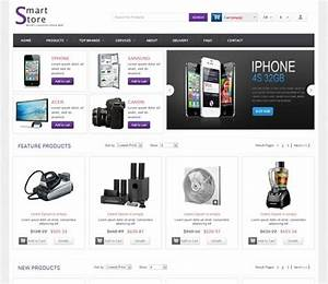 Smart store free responsive html5 css3 mobileweb for Online store template html5