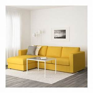 Ikea Vimle Sofa : vimle sofa with chaise orrsta golden yellow ikea ~ A.2002-acura-tl-radio.info Haus und Dekorationen