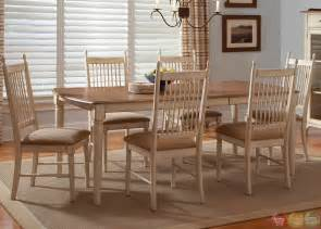 casual dining room sets cottage cove ivory finish casual dining room set