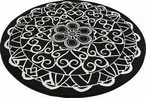 Teppich Rund 2m : teppich mandala 1 zala living rund h he 9 mm otto ~ Whattoseeinmadrid.com Haus und Dekorationen