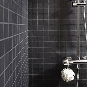 Carrelage Noir Salle De Bain : carrelage salle de bain antid rapant ~ Dailycaller-alerts.com Idées de Décoration