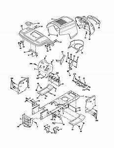 Chassis Diagram  U0026 Parts List For Model Ppr20h42stc Poulan