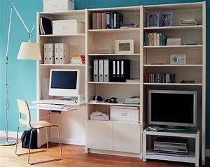 Meuble Ordinateur Salon : lundia le mobilier modulable bureaux ~ Medecine-chirurgie-esthetiques.com Avis de Voitures