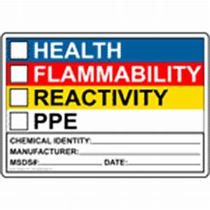 nfpa 704 placard clipart best With hmis label template free