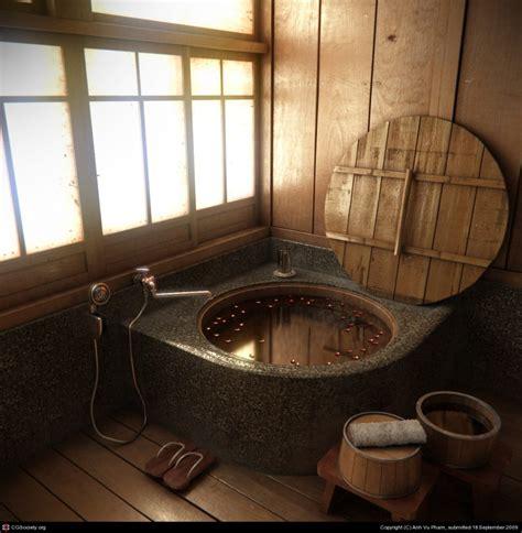 Japanese Bathroom Design by 12 Japanese Style Bathroom Designs Theydesign Net