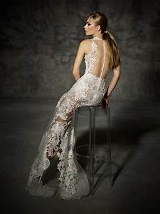 yolancris couture wedding dress villamari With high end wedding dress designers