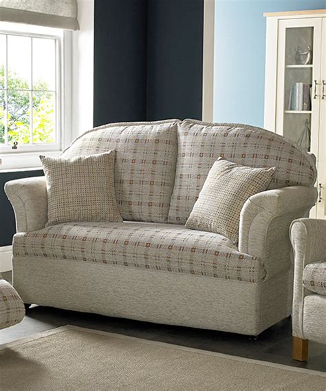 richmond 2 seater designer settee made in britain by