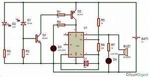 Ir Detector Circuit Using 555 Timer Ic  U2013 Technology  U0026 Hacking