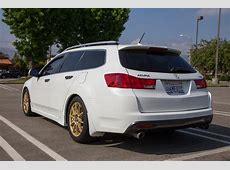 CLOSED 2012 Acura TSX Sport Wagon Base Bellanova White