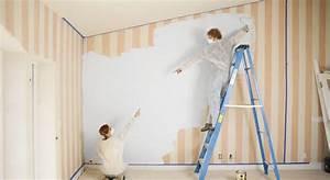 comment repeindre sur du papier peint With repeindre un escalier en gris 8 la renovation dun escalier isolation et domotique pour