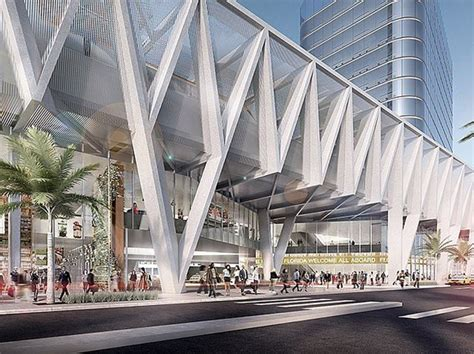 transit architecture miami s multi modal transportation hub is the first of three to connect south florida to orlando