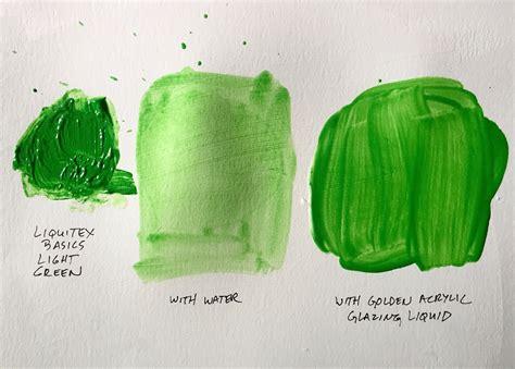 water  medium   add  acrylic paint