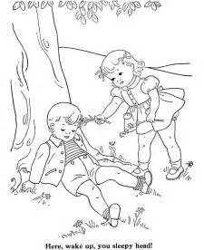 Kids Activities Coloring Pages