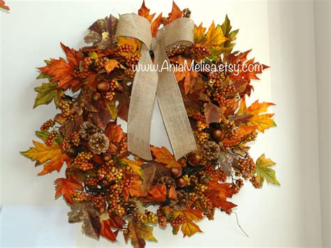 a fall wreath fall wreath fall wreaths autumn wreaths front door wreaths